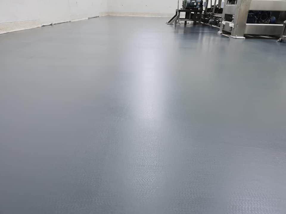 งานทำพื้นPU Concreteความหนา4mm.