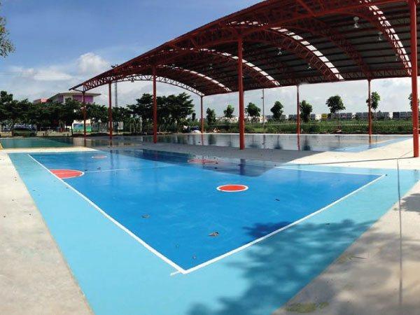 Sport floor (พื้นสนามกีฬา)