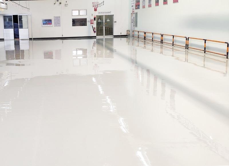 ทำพื้น epoxy พื้นโรงงานระยอง
